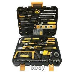 198 PCS Hand Tool Set Mechanics Kit Wrench Socket Household Repair Tools with Case