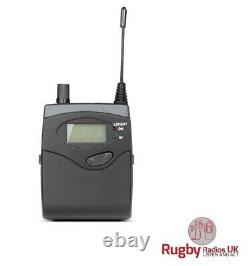 1 x Sennheiser/Pure Compatible G2 G4 UHF TX And RX + case 606-613mhz CH38 50mw