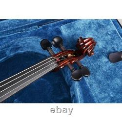 4/4 Full Size Handmade Violin Stradivari 1721 Copy German Style Fiddle Case Bow