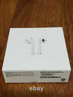 Apple AirPods 2nd Gen with Charging Case Wireless Headset Earbuds MV7N2AM/A