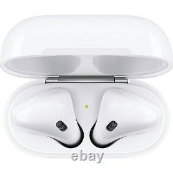 Apple AirPods 2nd Generation Earbuds with Charging Case MV7N2BE/A