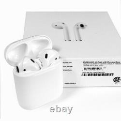 Apple AirPods 2nd Generation Wireless Earbuds & Charging Case (Latest Model)