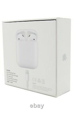 Apple AirPods 2nd Generation Wireless Earbuds & Charging Case MV7N2AM/A H1
