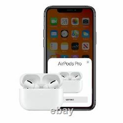 Apple AirPods Pro Bluetooth EarPods with Wireless Charging Case MWP22AM/A