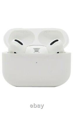 Apple AirPods Pro With Wireless Charging Case White MWP22AM/A Authentic