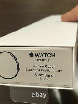 Apple Watch Series 3 (GPS) 42mm Space Gray Aluminum Case MTF32LL/A