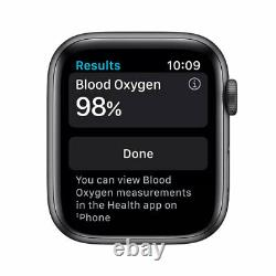 Apple Watch Series 6 44mm GPS + Cellular, Space Gray Aluminum Case M07H3LL/A