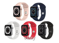 Apple Watch Series 6 (GPS) 44mm Factory Sealed Factory Warranty All Colors