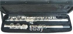 BRAND NEW SILVER BAND C FLUTE WithCASE. APPROVED+ WARRANTY