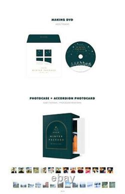 BTS 2020 WINTER PACKAGE DVD+2ea Book+Case+Card Set+Photo Set+Stand+Mark+GIFT