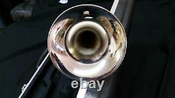 Bb TRUMPET-BANKRUPTCY-NEW STUDENT TO ADVANCED BAND CONCERT SILVER TRUMPETS