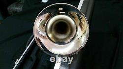 Bb TRUMPET-BANKRUPTCY SALE-NEW STUDENT/INTERMEDIATE SILVER CONCERT BAND TRUMPETS