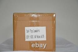Branded Premium 1000 Count 3X4 Top Loaders New Sealed Case 40/25 Ct Package 35pt