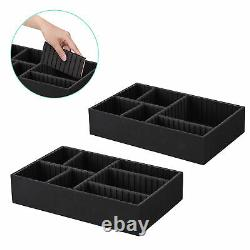 Byootique 4in1 Aluminum Makeup Case Cosmetic Trolley Beauty Train Trays Box