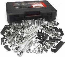 Craftsman 230 Piece Mechanics Tool Set, Alloy SAE Metric Socket Wrench with Case