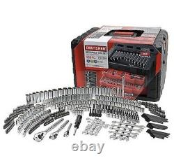 Craftsman 450 Piece Mechanics Tool Set WithCase Wrenches SAE Metric 268 298 NEW