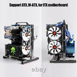 DIY Open-Frame Computer Chassis ATX/MATX/ITX Radiator Aluminum Alloy for PC Case