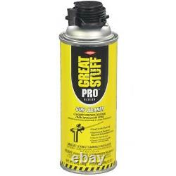 Dow Great Stuff PRO Gaps and Cracks, 24oz, Case of 12, Foam Gun, 2 Cans Cleaner