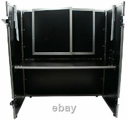 Harmony Case HCDJSTANDT Compact Fold Out Portable DJ Workstation Table