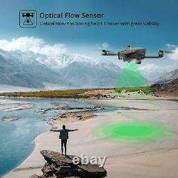 Holy Stone HS720 Brushless GPS drone 4K FHD camera FPV Foldable + case 3 battery