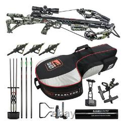 Killer Instinct Ripper 415 FPS Crossbow Kit with Case and HME Broadheads Bundle