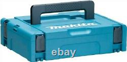 Makita MAKPAC Stack 3 Piece Connector Stackable Tool Case Type 1 2 and 3