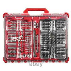 Milwaukee 48-22-9486 106pc 3/8 & 1/4 Drive SAE/Metric Tool Set withPACKOUT Case