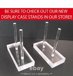 NASCAR 124 Diecast Display Case 21 Comp. Fits Action