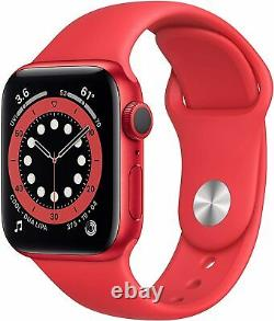 NEW Apple Watch Series 6 GPS 40mm (Product) RED Aluminum Case/Band SEALED