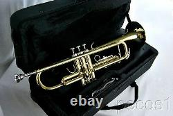 New 2021 Student To Advanced Concert Golden Brass Marching Band Trumpet-b Flat