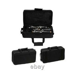 New Glarry Bb Professional Clarinet with Case Manual & Accessories