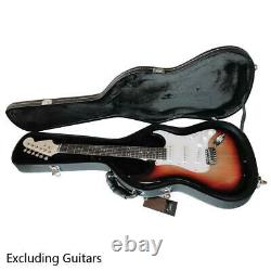New Protable Flat Surface ST Electric Guitar Hard Shell Case