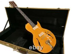 New Semi-hollow 6 String Little Sister Style Cutout Electric Guitar + Case