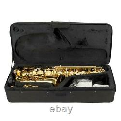 New Student Paint Gold Alto Eb Sax Saxophone with Case Accessories