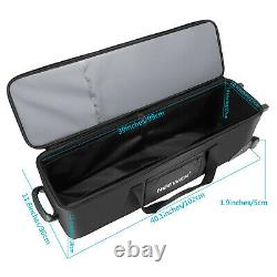 Photo Studio Equipment Rolling Bag Trolley Carrying Case for Light Stand