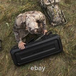 Plano PLA11842 42 All Weather Hard Sided Tactical Rifle Long Gun Case, Black