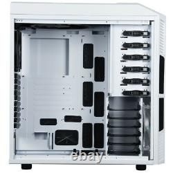 Rosewill THOR V2-W White Edition Gaming ATX Full Tower Computer Case White LED