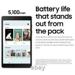 Samsung 8 Galaxy Tab A T290 32GB Tablet with Case & Memory Card Wi-Fi Only, Black