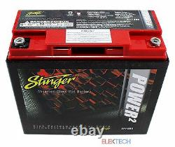 Stinger SPP680 Battery 680 AMPS SPP Series Dry Cell Car Audio with Steel Case New