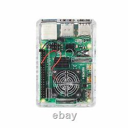 Vilros Raspberry Pi 4 Basic Kit with Fan Cooled Case