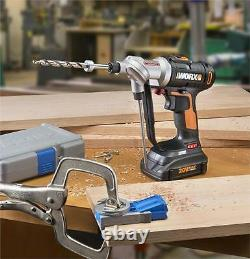 WORX WX176L. 1 Switchdriver 67 PC 20V PowerShare Cordless Drill & Driver